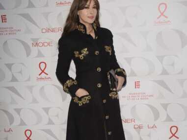 PHOTOS - Monica Bellucci rayonnante et impériale au dîner de la mode