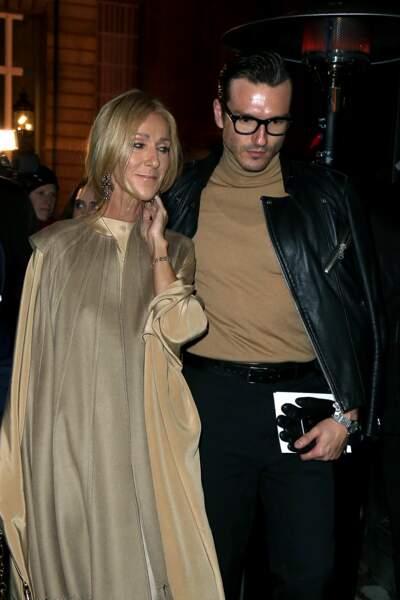 Céline Dion et Pepe Munoz ont des looks assortis