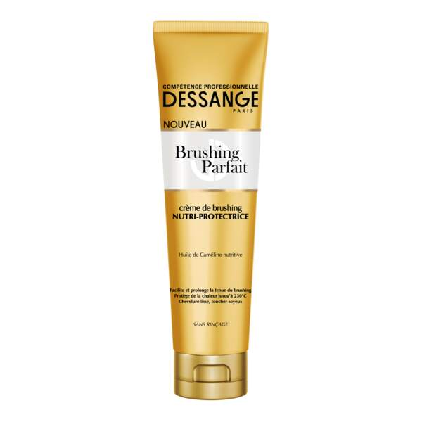 Crème de Brushing Nutri-Protectrice, Dessange, 7,50 €, en grande distribution.