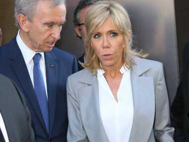 Brigitte Macron, ses looks en blazer