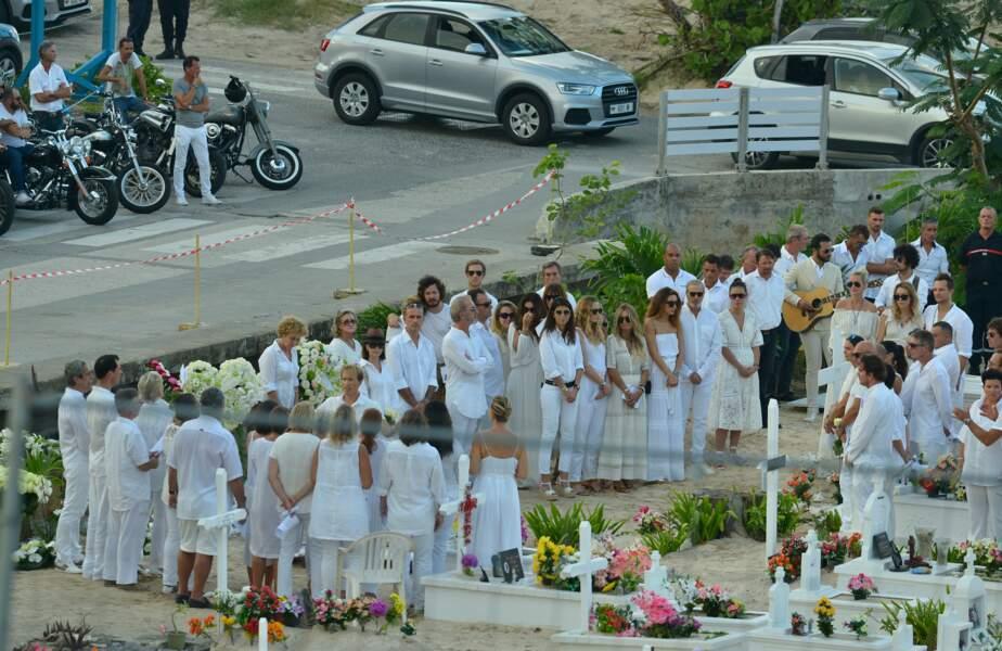 Obsèques de Johnny Hallyday à Saint Barth