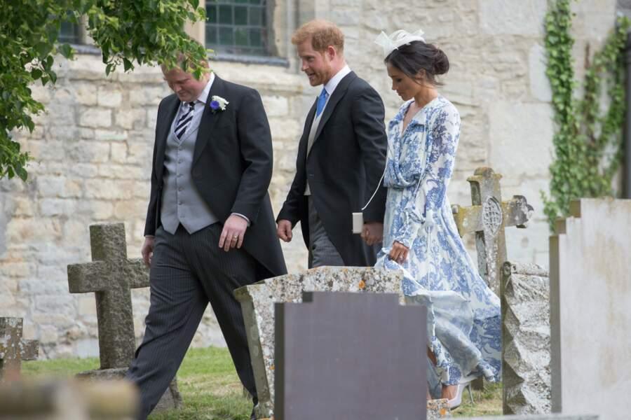 Meghan Markle et le prince Harry ont assisté au mariage de la nièce de Lady Diana.