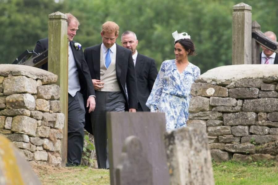 Meghan Markle et le prince Harry...