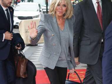 PHOTOS – Brigitte Macron, très chic dans les rues de New York