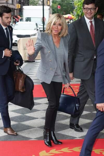Brigitte Macron est arrivée à New York lundi 18 septembre