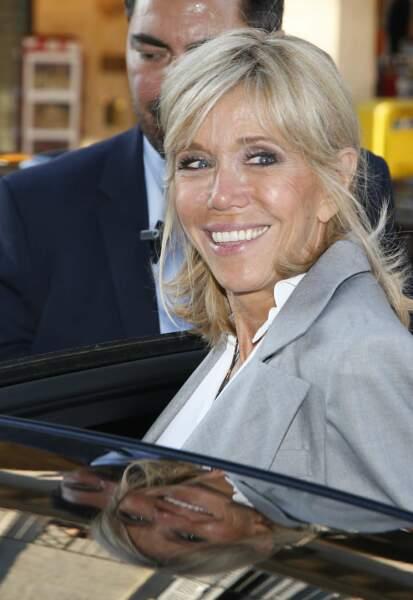 Elle était invité à l'événement Christian Dior