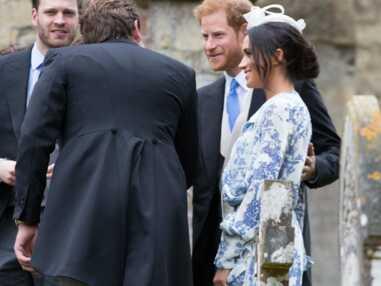 PHOTOS - Quand Harry et Meghan volent la vedette aux mariés