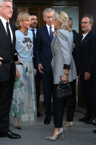 Brigitte Macron présente pour les 70 ans de la maison Dior