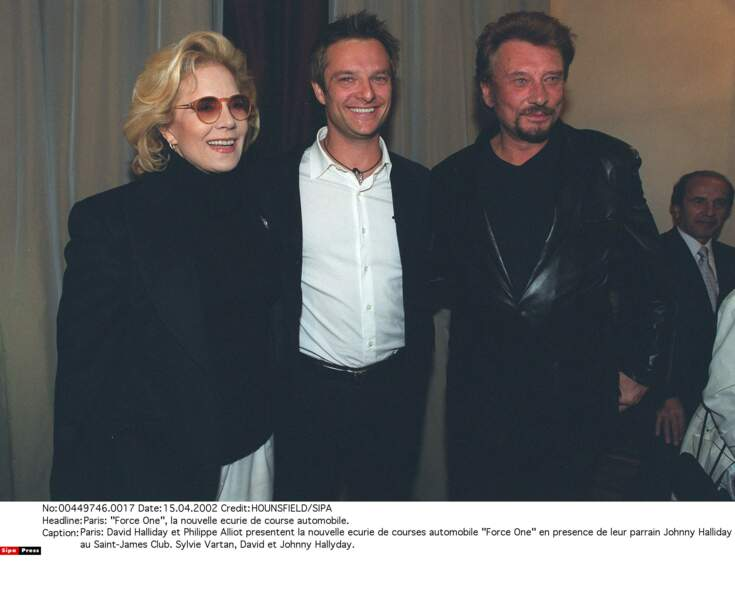 2002. Sylvie, David et Johnny