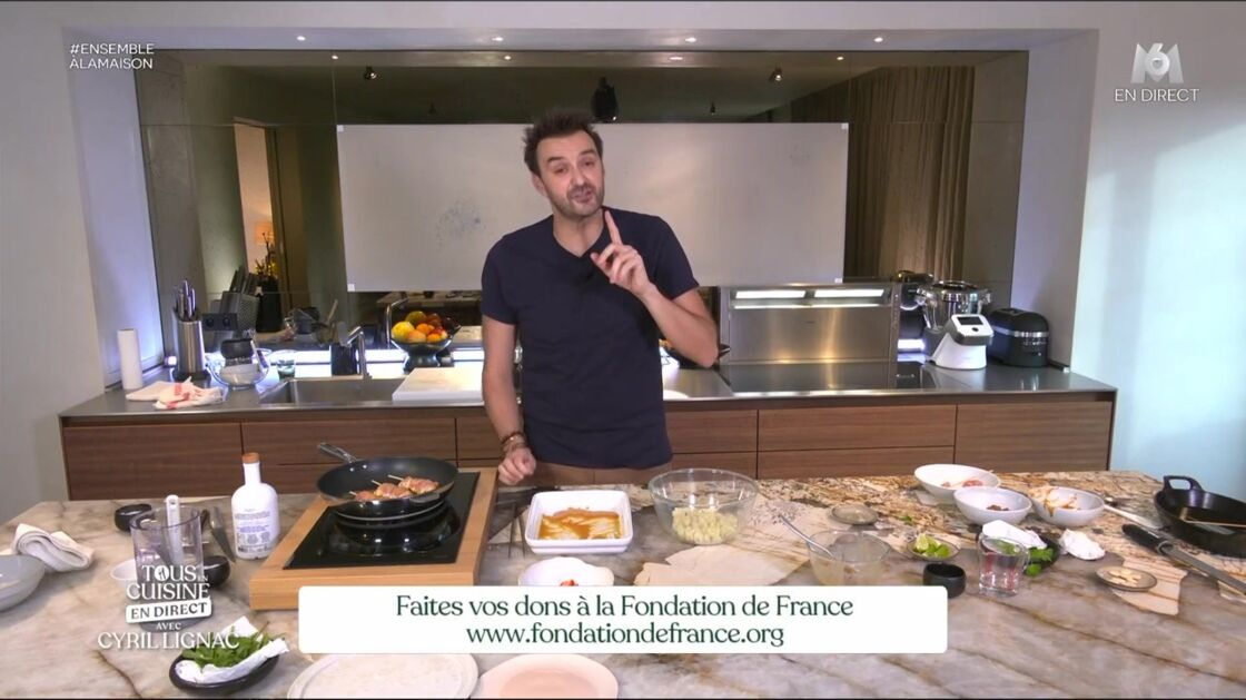thumbnail - All in the kitchen with Cyril Lignac: discover the list of ingredients for the week of August 31