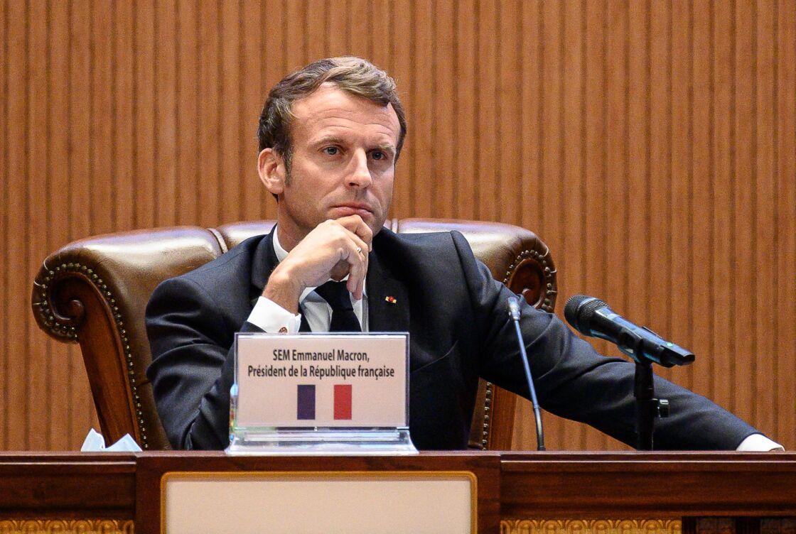 Emmanuel Macron, le 7 mai 2020