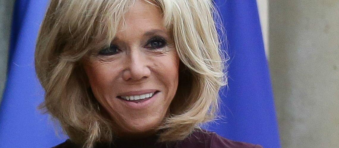 PHOTOS – Brigitte Macron ambassadrice du chic à la française: ses chaussures Roger Vivier font l'unanimité