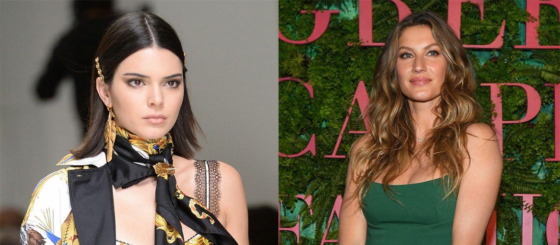 Kendall Jenner plus forte que Gisele Bündchen, elle est le mannequin le mieux payé en 2017