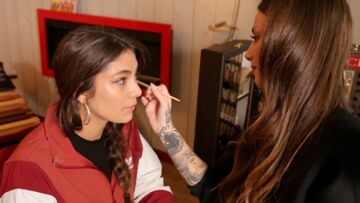 VIDEO – Dans les coulisses du maquillage de la rappeuse Chilla par Fanny Maurer, make-up artist Clarins