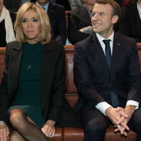 PHOTOS – Brigitte Macron surprend: elle porte pour la première fois une robe de couleur verte