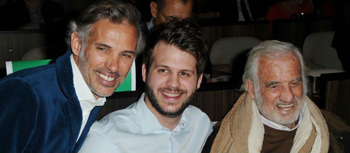 PHOTOS – Jean Paul Belmondo entouré par ses petits-fils et son fils Paul Belmondo pour une projection exceptionnelle