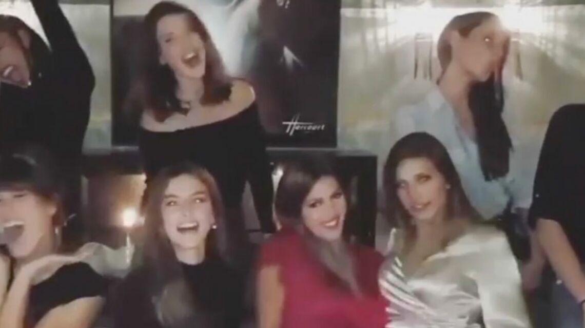 VIDEO – Iris Mittenaere et Valérie Bègue testent la frange avec toutes les autres Miss