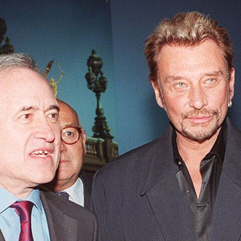 La très grosse bourde de Johnny Hallyday avec Jean Tiberi, à l'époque maire de Paris, sur l'âge de son épouse Xavière