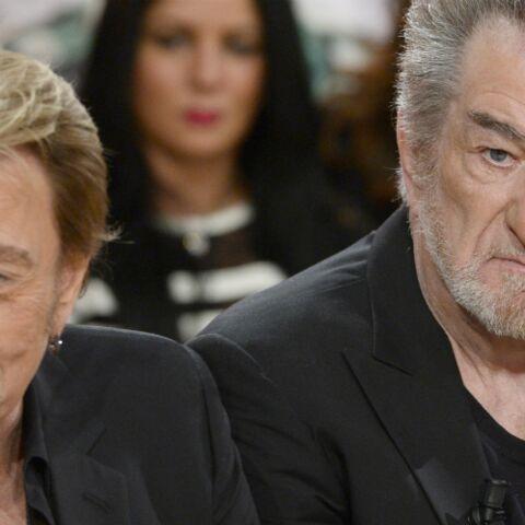 Eddy Mitchell sous le choc de sa visite à Johnny Hallyday, le chanteur a perdu beaucoup de poids