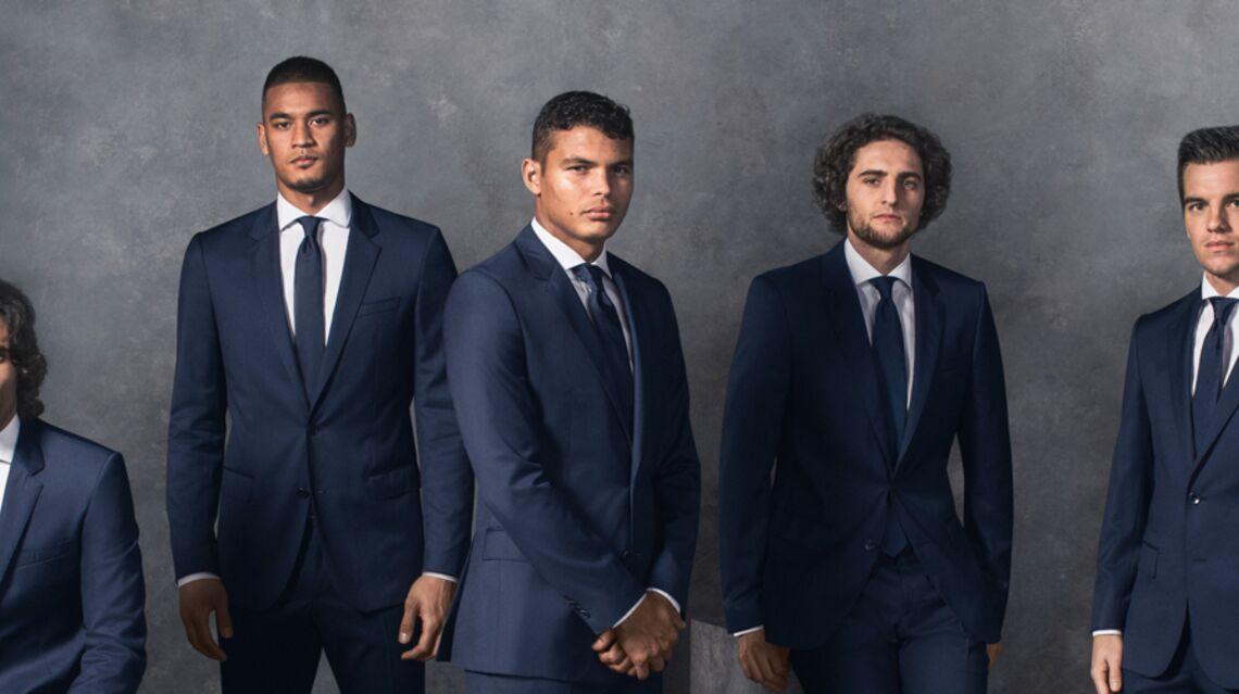 Edinson Cavani, Thiago Silva, Laure Boulleau… Les joueurs et les joueuses du PSG posent pour Hugo Boss