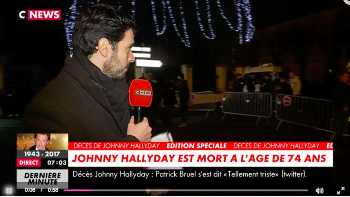 VIDEO – Mort de Johnny Hallyday: la sécurité à Marnes-la-Coquette renforcée
