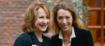 nathalie baye et laura smet la sortie de leur film endeuill e par la mort de johnny hallyday. Black Bedroom Furniture Sets. Home Design Ideas