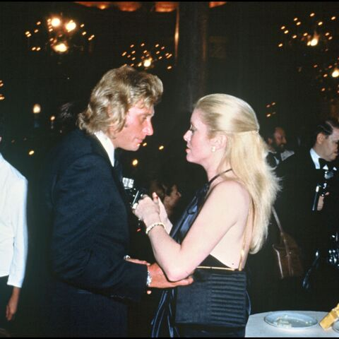 Johnny Hallyday: sa passion secrète et brève avec Catherine Deneuve