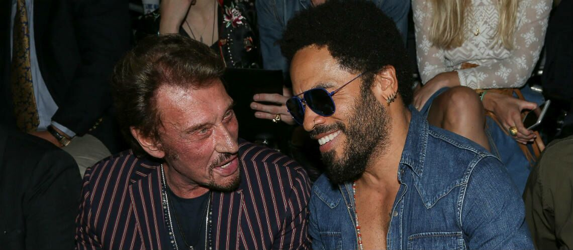 "PHOTOS – Lenny Kravitz rend hommage à ""son ami"" Johnny Hallyday"