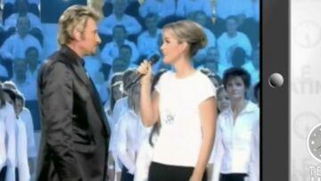 VIDEO – Quand Johnny Hallyday chantait aux côtés de son épouse Laeticia
