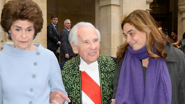 VIDEO  ndash  Jean d rsquo Ormesson, mari eacute  55 ans  agrave  la m ecirc 89d0db68fb9e