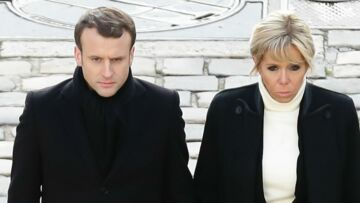 PHOTOS  ndash  Brigitte et Emmanuel Macron, main dans main pour les  obs egrave ques 4b7e96b8c71c