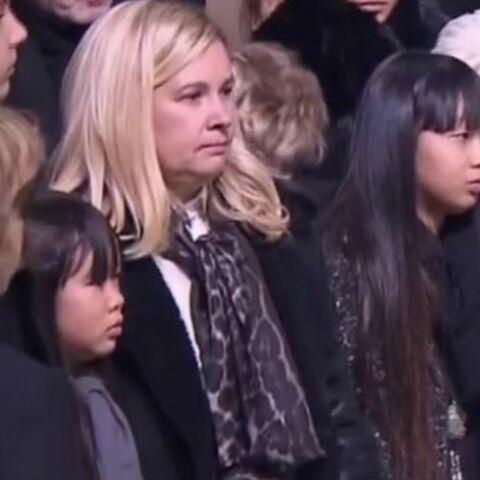"""PHOTO – Hélène Darroze, celle qui entoure Jade et Joy: Johnny Hallyday lui a confié """"ses femmes"""""""