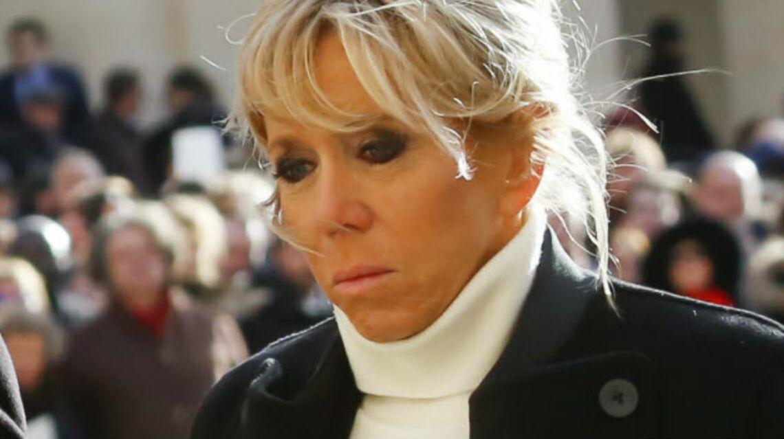 VIDEO – Hommage à Johnny Hallyday: Brigitte Macron réconforte chaleureusement Laura Smet