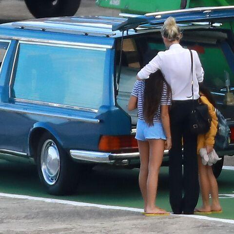 Jade et Joy, les fillettes de Johnny Hallyday et Laeticia absentes des obsèques