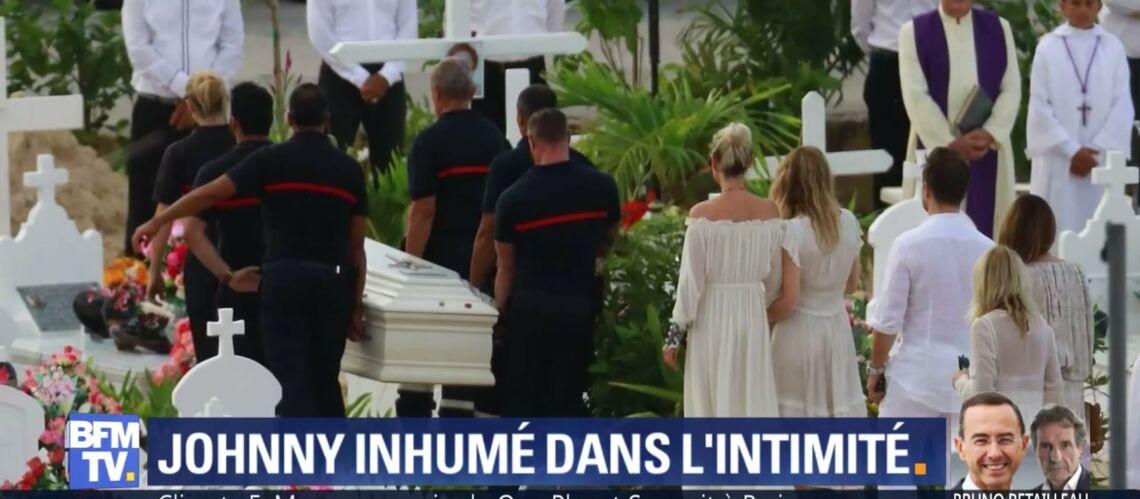 Obsèques de Johnny Hallyday: l'un des célèbres invités a fait un malaise