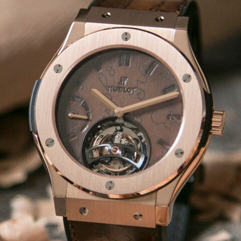 Hublot x Berluti : un tourbillon d'exception