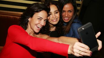 Sandra Sisley: La jeune mariée en grande forme pour l'inauguration de Noura