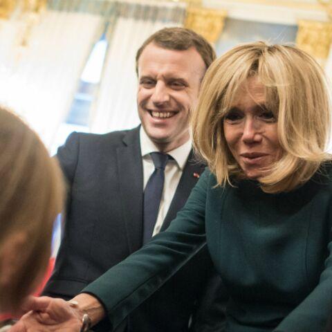 Brigitte Macron, ses petits enfants ont participé presque incognito au Noël de l'Elysée
