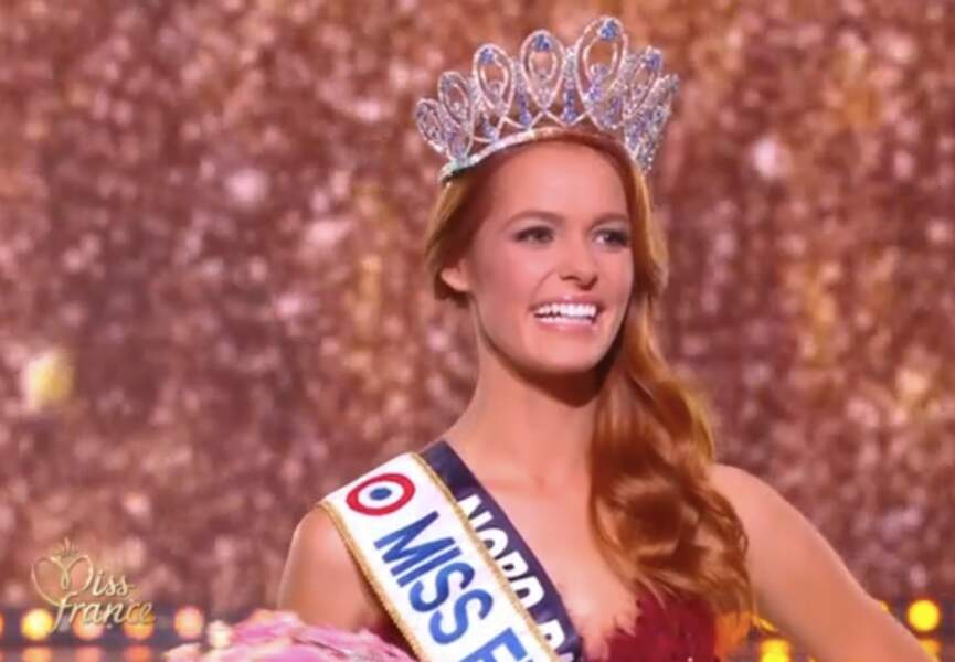 Maeva Coucke décroche la couronne de Miss France 2018