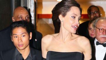 PHOTOS – Angelina Jolie plus mince que jamais, escortée par ses enfants pour une soirée chicissime