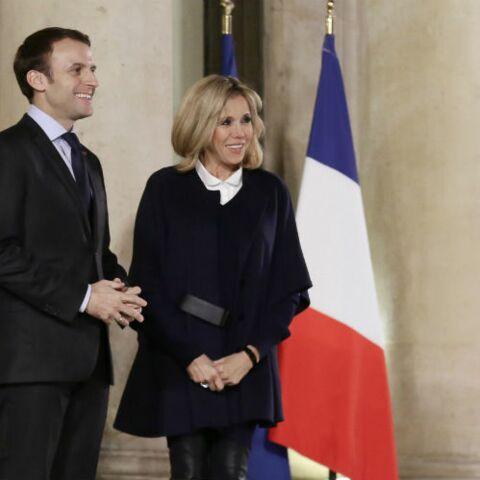 PHOTOS – Brigitte Macron: découvrez le prix de ses boots de biker chic