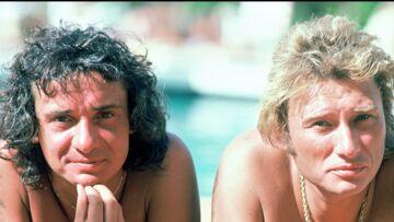VIDÉO – Quand Johnny Hallyday gaffait auprès d'Anne-Marie Périer la femme de son ami Michel Sardou