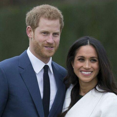 PHOTOS – Meghan Markle: en robe de bal transparente pour sa photo officielle de fiançailles avec le prince Harry