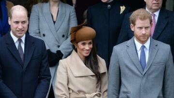 Photos – Les princes William et Harry, Kate Middleton,Meghan Markle réunis pour la messe de Noël