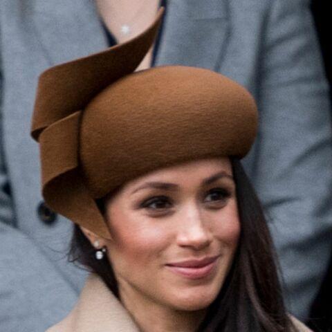 nouveau authentique prix de détail nouveau design Meghan Markle : son chapeau marron, première faute de goût ...