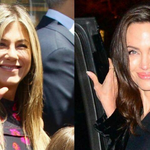 Angelina Jolie et Jennifer Aniston réunies aux Golden Globes… la presse fait déjà ses choux gras