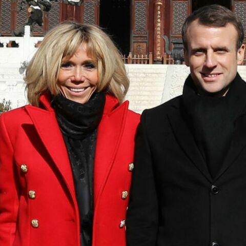 design intemporel e26f9 9863e PHOTOS – Brigitte Macron en Chine, découvrez le prix de ses ...