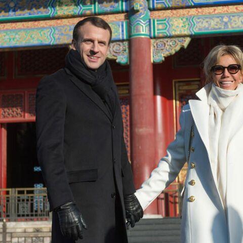 Pourquoi la tendresse (très visible) entre Emmanuel et Brigitte Macron a étonné les chinois