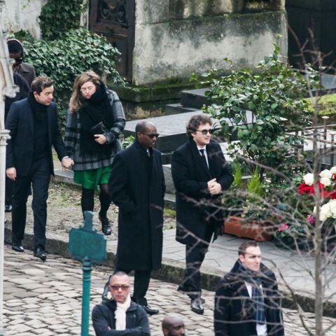 PHOTOS – Obsèques de France Gall: Raphael Hamburger et Bruck Dawit: les deux hommes unis dans la douleur