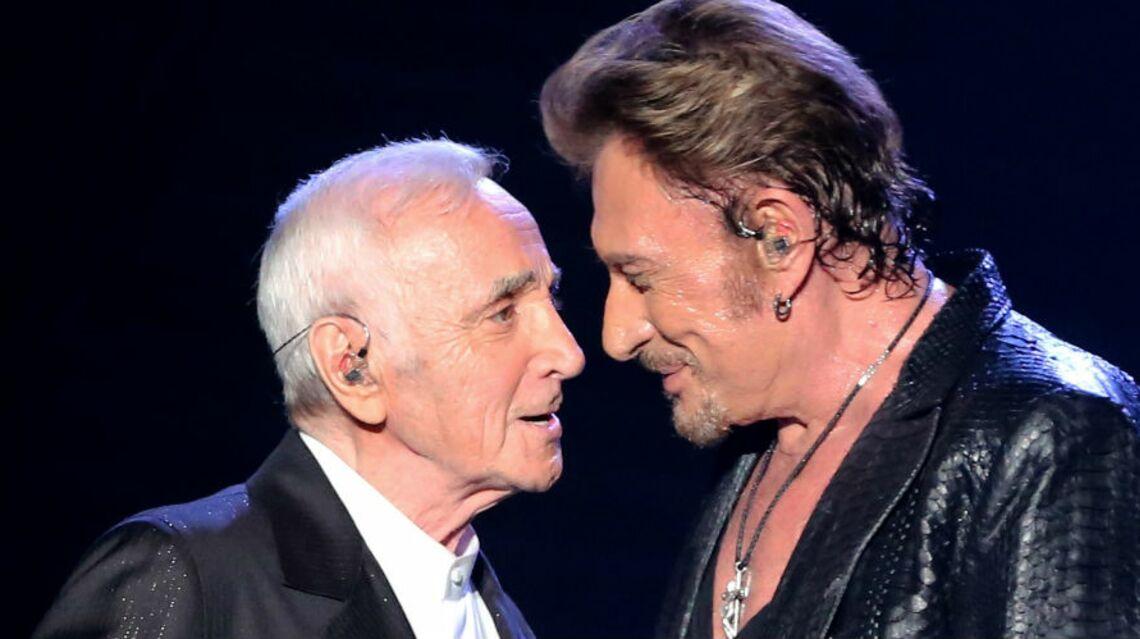 VIDEO – Charles Aznavour, au bord des larmes, très affecté par la mort de Johnny Hallyday: «Je prends le deuil à la manière arménienne»